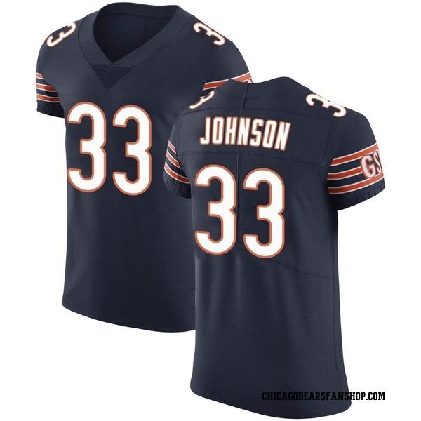 Men's Jaylon Johnson Chicago Bears Elite Navy Team Color Vapor Untouchable Jersey