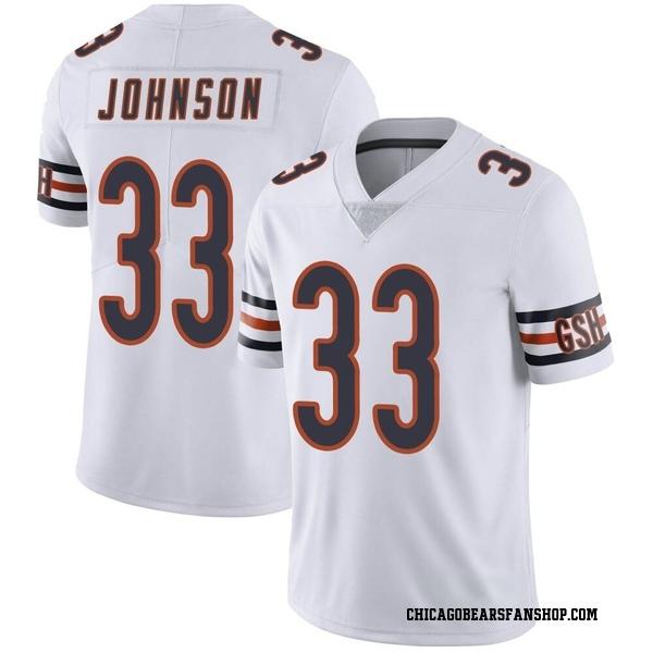 Men's Jaylon Johnson Chicago Bears Limited White Vapor Untouchable Jersey