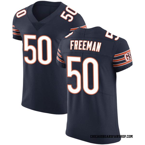 Men's Jerrell Freeman Chicago Bears Elite Navy Team Color Vapor Untouchable Jersey