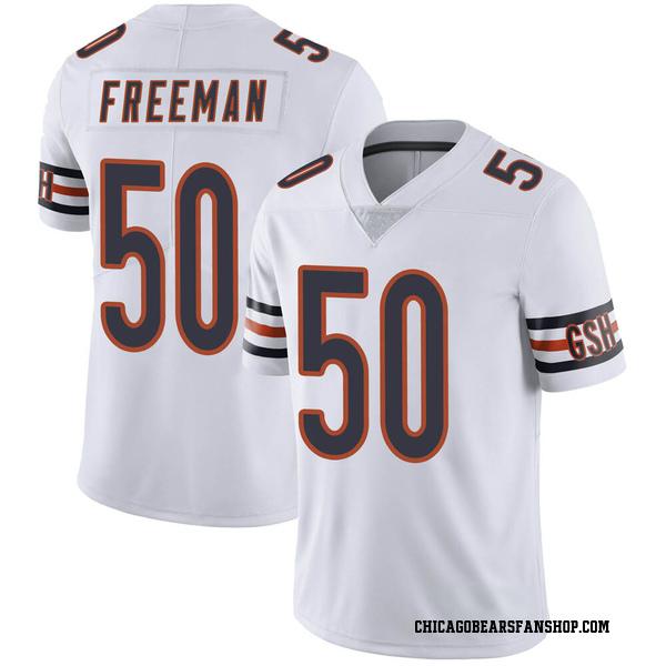 Men's Jerrell Freeman Chicago Bears Limited White Vapor Untouchable Jersey