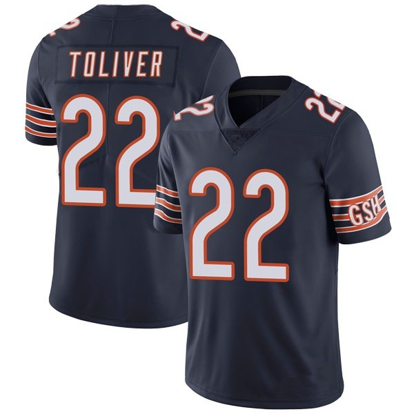Men's Kevin Toliver Chicago Bears Limited Navy Team Color Vapor Untouchable Jersey