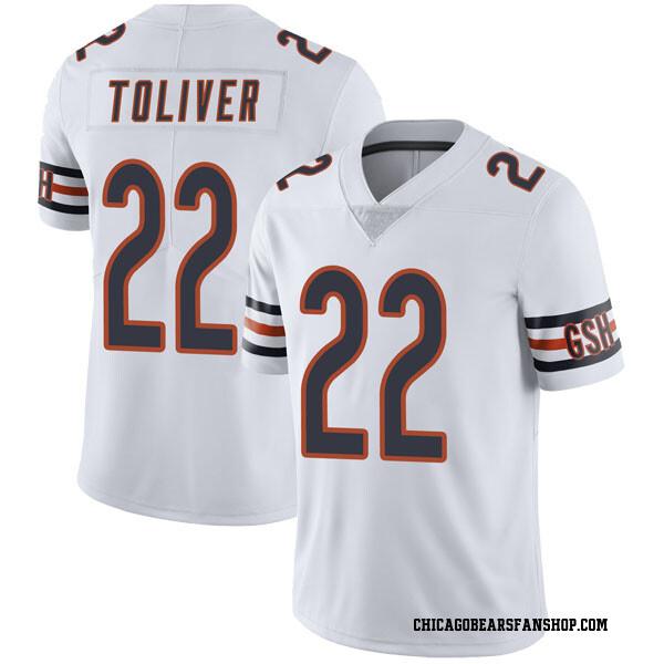 Men's Kevin Toliver Chicago Bears Limited White Vapor Untouchable Jersey