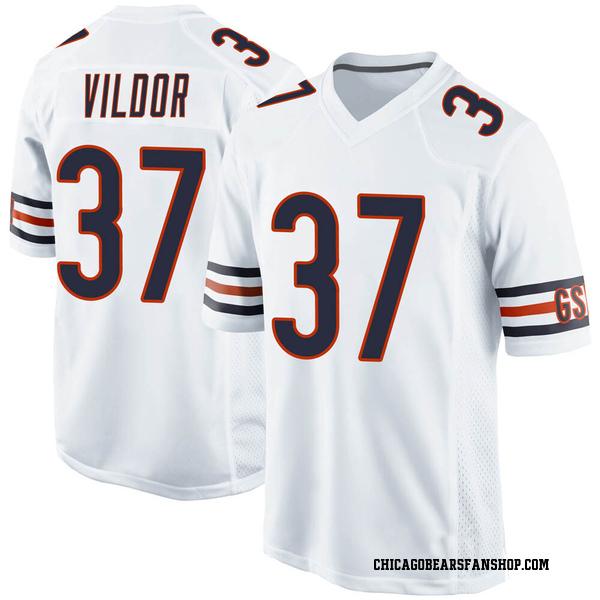 Men's Kindle Vildor Chicago Bears Game White Jersey