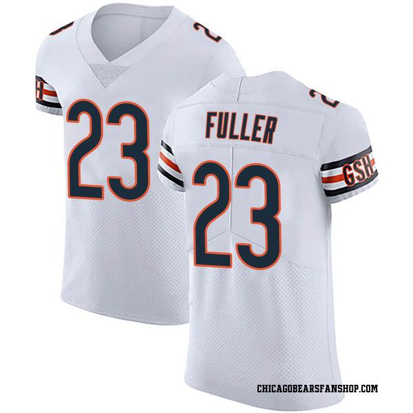 Men's Kyle Fuller Chicago Bears Elite White Vapor Untouchable Jersey