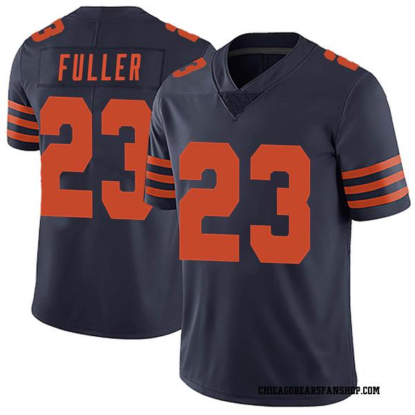 Men's Kyle Fuller Chicago Bears Limited Navy Blue Alternate Vapor Untouchable Jersey
