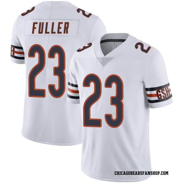 Men's Kyle Fuller Chicago Bears Limited White Vapor Untouchable Jersey