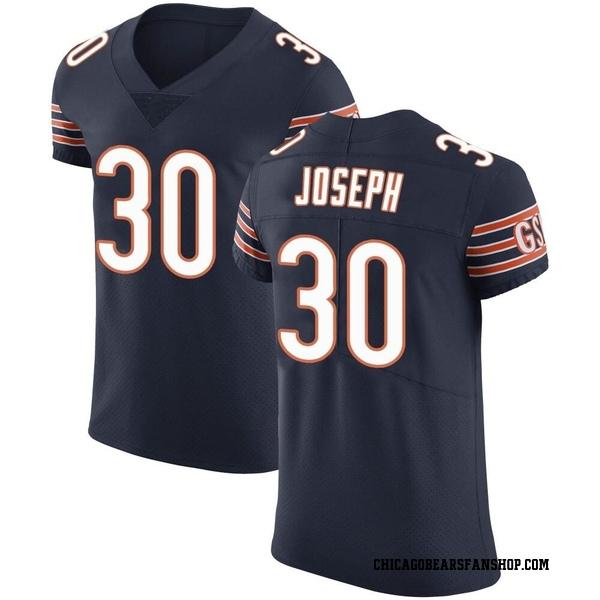 Men's Michael Joseph Chicago Bears Elite Navy Team Color Vapor Untouchable Jersey