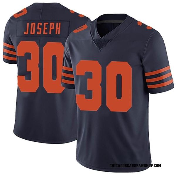 Men's Michael Joseph Chicago Bears Limited Navy Blue Alternate Vapor Untouchable Jersey