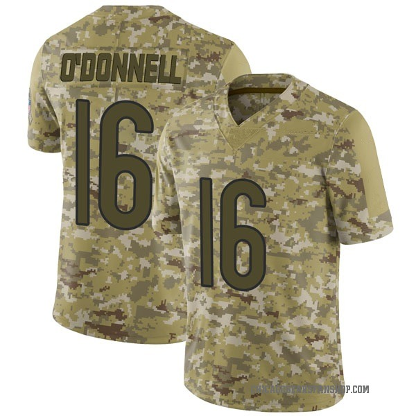 Men's Pat O'Donnell Chicago Bears Limited Camo 2018 Salute to Service Jersey