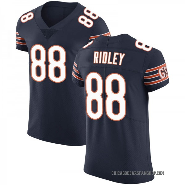 Men's Riley Ridley Chicago Bears Elite Navy Team Color Vapor Untouchable Jersey