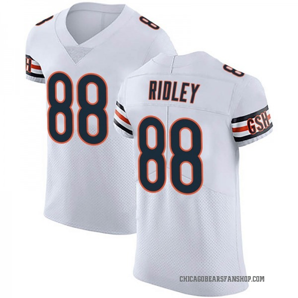 Men's Riley Ridley Chicago Bears Elite White Vapor Untouchable Jersey