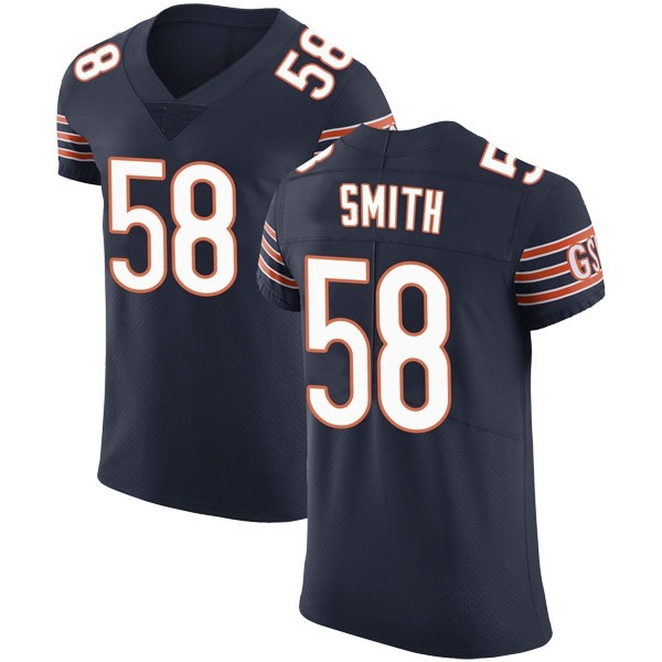 Men's Roquan Smith Chicago Bears Elite Navy Team Color Vapor Untouchable Jersey