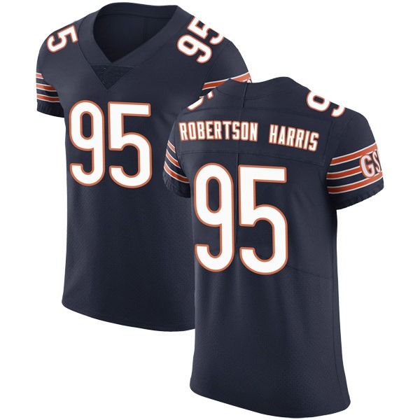 Men's Roy Robertson-Harris Chicago Bears Elite Navy Team Color Vapor Untouchable Jersey
