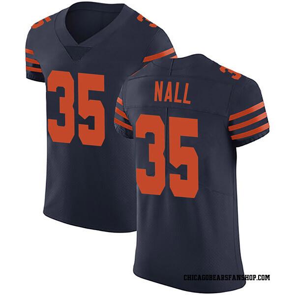 Men's Ryan Nall Chicago Bears Elite Navy Blue Alternate Vapor Untouchable Jersey