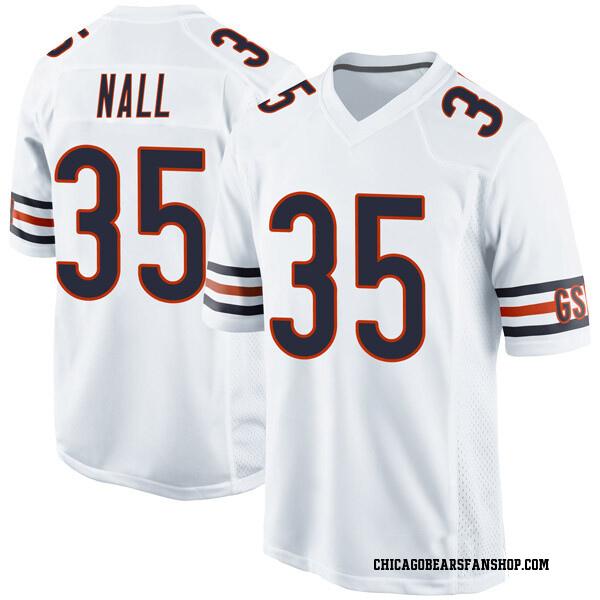 Men's Ryan Nall Chicago Bears Game White Jersey