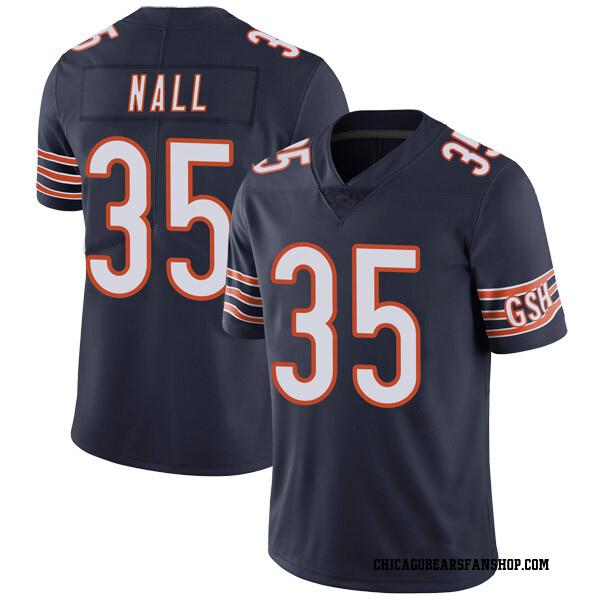 Men's Ryan Nall Chicago Bears Limited Navy Team Color Vapor Untouchable Jersey