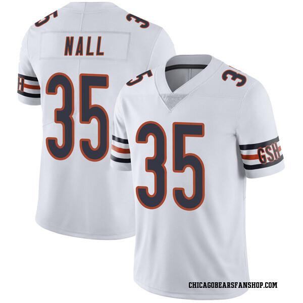 Men's Ryan Nall Chicago Bears Limited White Vapor Untouchable Jersey