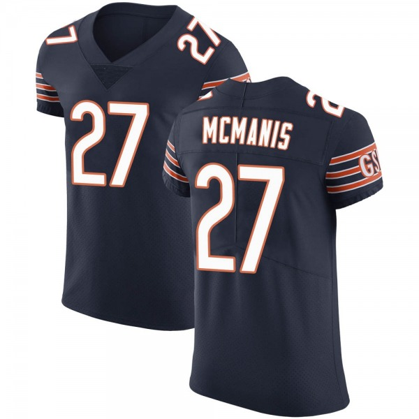 Men's Sherrick McManis Chicago Bears Elite Navy Team Color Vapor Untouchable Jersey
