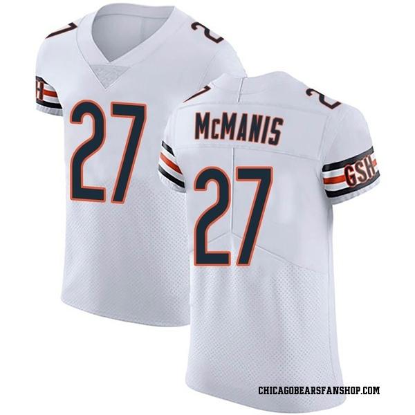 Men's Sherrick McManis Chicago Bears Elite White Vapor Untouchable Jersey