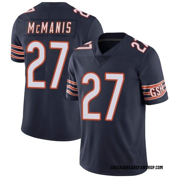 Men's Sherrick McManis Chicago Bears Limited Navy Team Color Vapor Untouchable Jersey