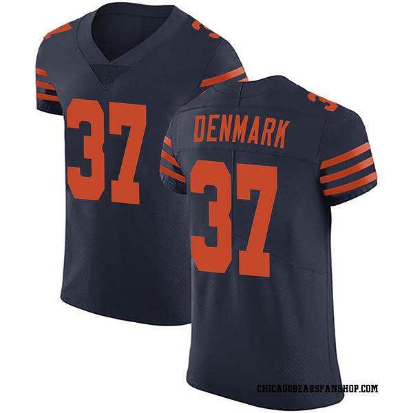 Men's Stephen Denmark Chicago Bears Elite Navy Blue Alternate Vapor Untouchable Jersey