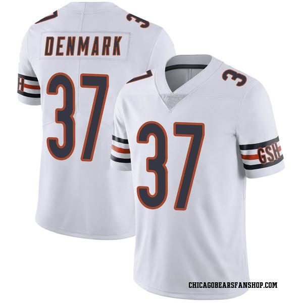 Men's Stephen Denmark Chicago Bears Limited White Vapor Untouchable Jersey
