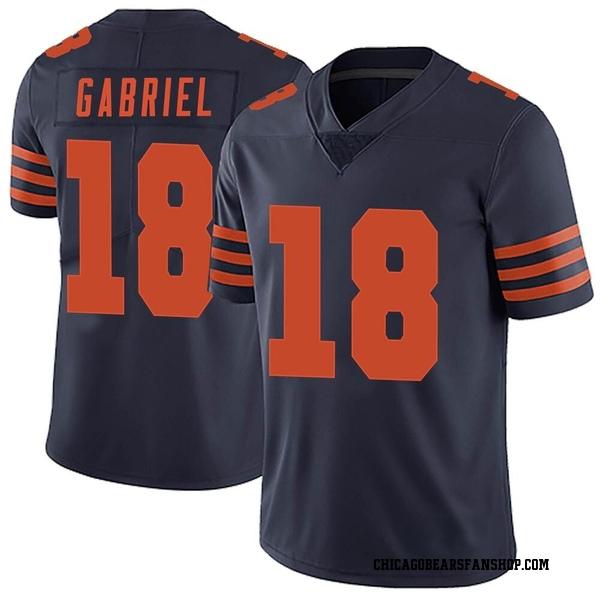 Men's Taylor Gabriel Chicago Bears Limited Navy Blue Alternate Vapor Untouchable Jersey