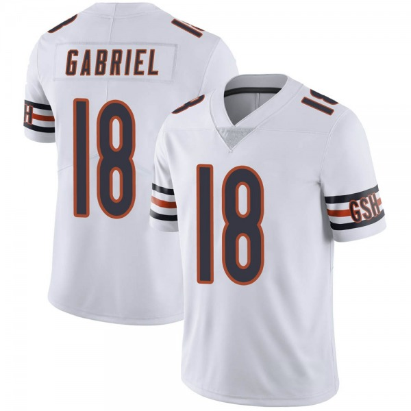 Men's Taylor Gabriel Chicago Bears Limited White Vapor Untouchable Jersey
