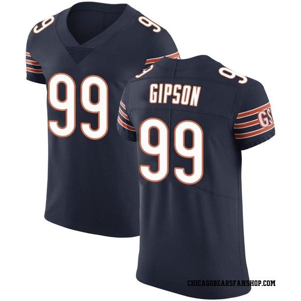 Men's Trevis Gipson Chicago Bears Elite Navy Team Color Vapor Untouchable Jersey