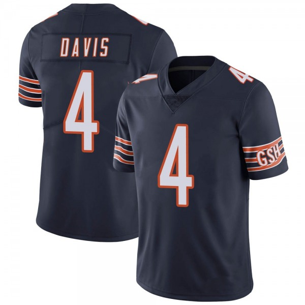 Men's Trevor Davis Chicago Bears Limited Navy Team Color Vapor Untouchable Jersey