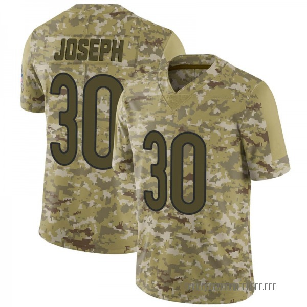Michael Joseph Chicago Bears Limited Camo 2018 Salute to Service Jersey