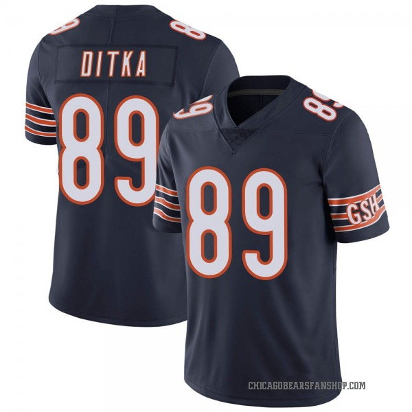 Mike Ditka Chicago Bears Limited Navy Team Color Vapor Untouchable Jersey