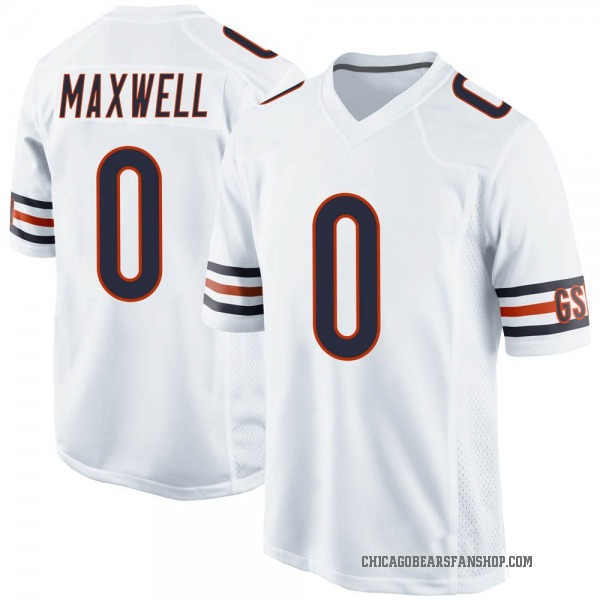 Napoleon Maxwell Chicago Bears Game White Jersey