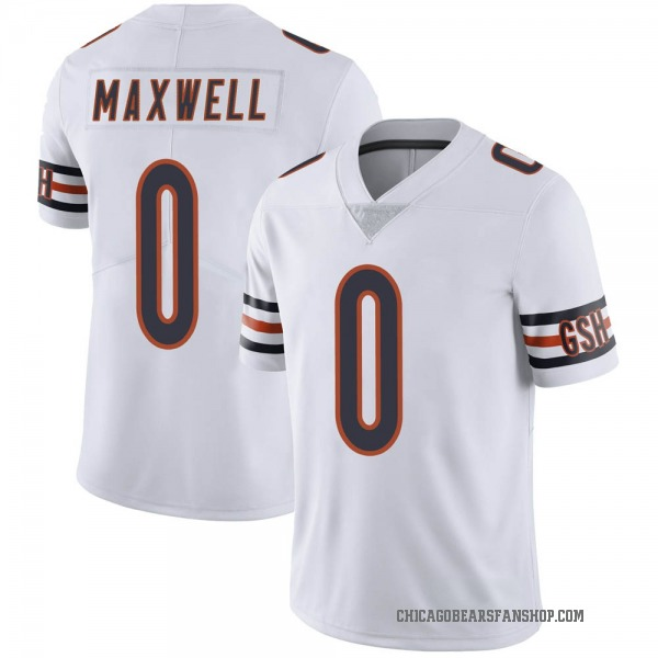 Napoleon Maxwell Chicago Bears Limited White Vapor Untouchable Jersey