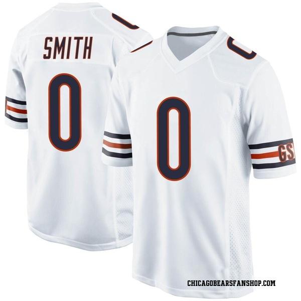 Rashad Smith Chicago Bears Game White Jersey