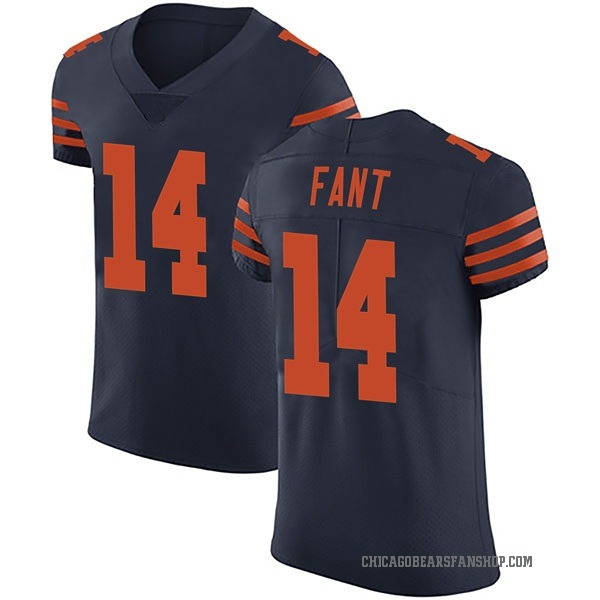 Rashard Fant Chicago Bears Elite Navy Blue Alternate Vapor Untouchable Jersey