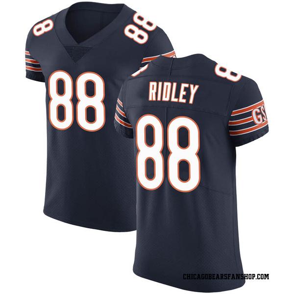 Riley Ridley Chicago Bears Elite Navy Team Color Vapor Untouchable Jersey
