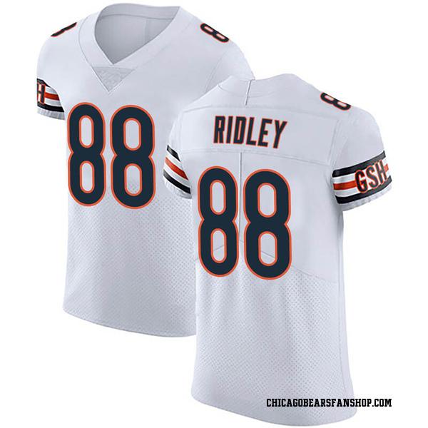 Riley Ridley Chicago Bears Elite White Vapor Untouchable Jersey
