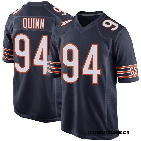 Robert Quinn Chicago Bears Game Navy Team Color Jersey