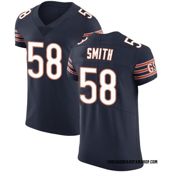 Roquan Smith Chicago Bears Elite Navy Team Color Vapor Untouchable Jersey