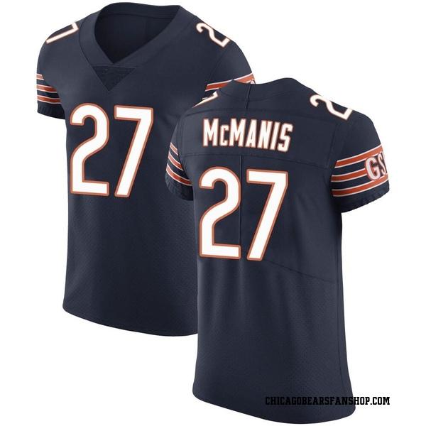 Sherrick McManis Chicago Bears Elite Navy Team Color Vapor Untouchable Jersey