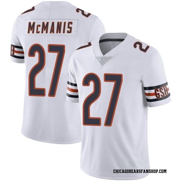 Sherrick McManis Chicago Bears Limited White Vapor Untouchable Jersey