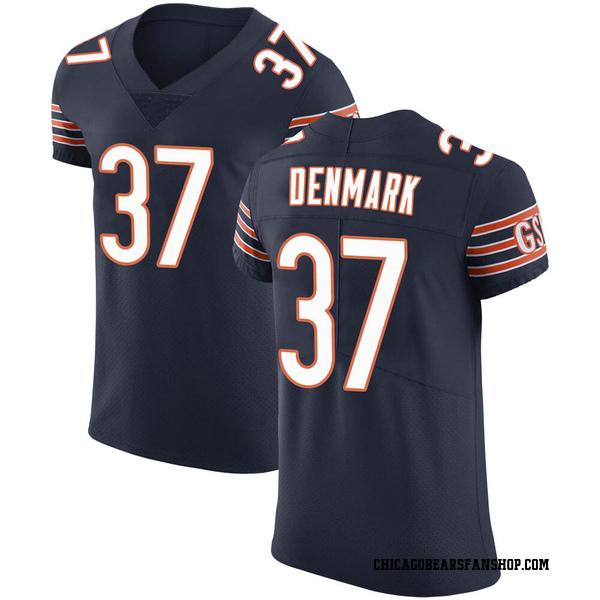 Stephen Denmark Chicago Bears Elite Navy Team Color Vapor Untouchable Jersey