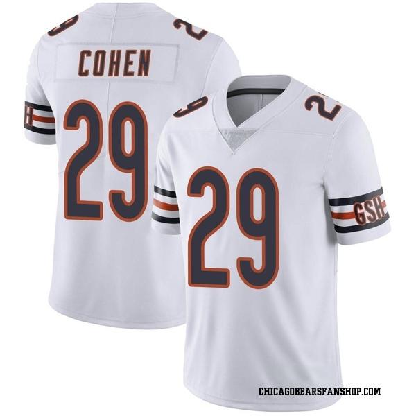 Tarik Cohen Chicago Bears Limited White Vapor Untouchable Jersey
