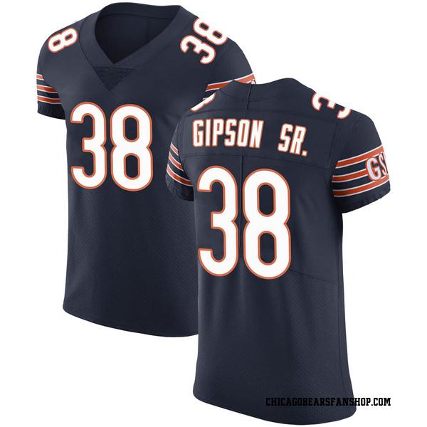Tashaun Gipson Chicago Bears Elite Navy Team Color Vapor Untouchable Jersey