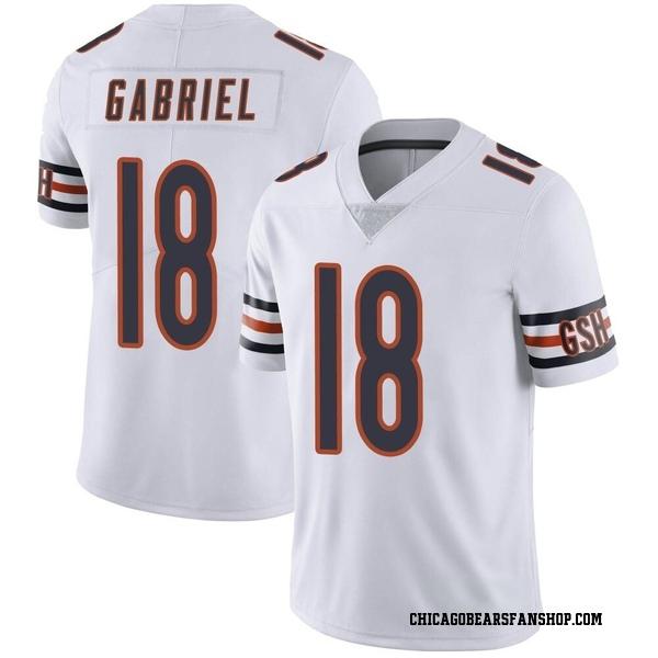 Taylor Gabriel Chicago Bears Limited White Vapor Untouchable Jersey