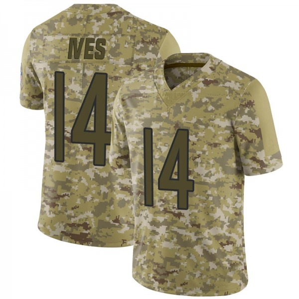 Thomas Ives Chicago Bears Limited Camo 2018 Salute to Service Jersey
