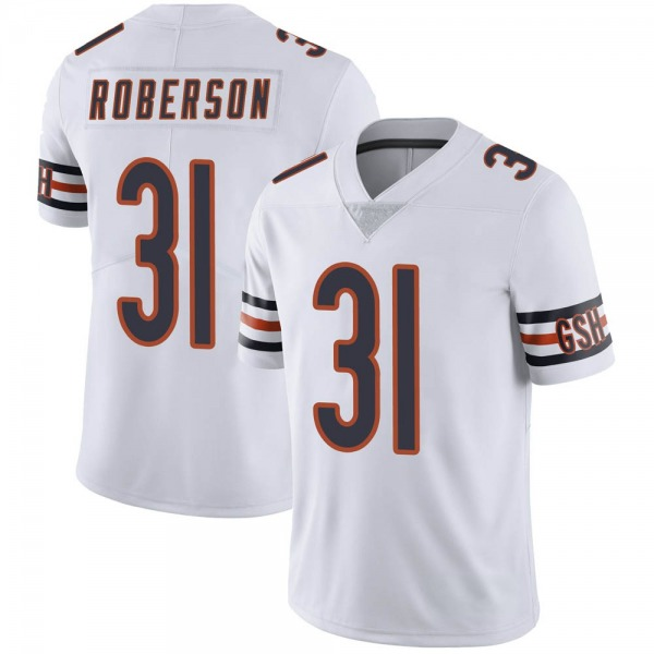 Tre Roberson Chicago Bears Limited White Vapor Untouchable Jersey