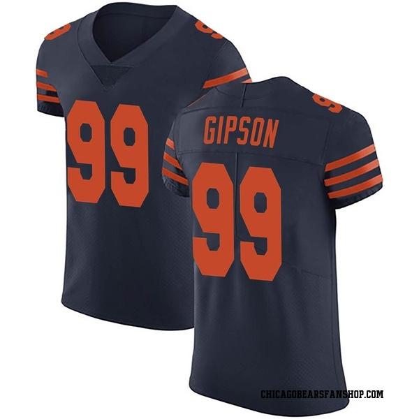 Trevis Gipson Chicago Bears Elite Navy Blue Alternate Vapor Untouchable Jersey