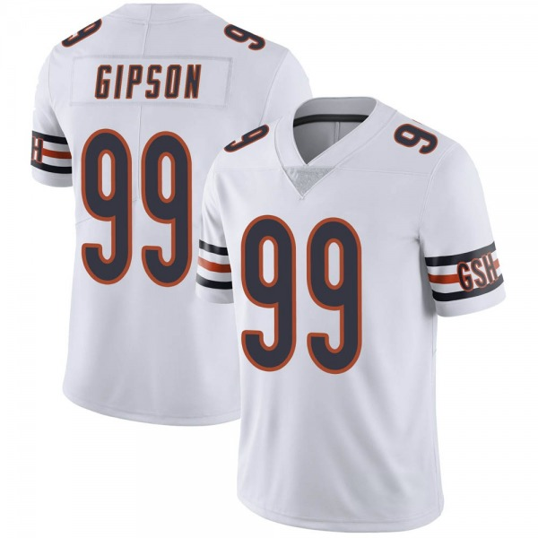 Trevis Gipson Chicago Bears Limited White Vapor Untouchable Jersey
